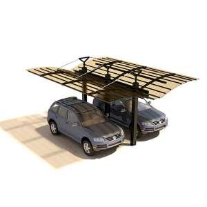 Навес для машин консольный