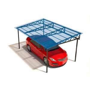 Навес для машины на даче